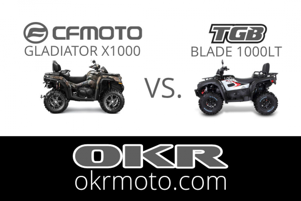 CFMOTO GLADIATOR X1000 vs. TGB BLADE 1000LT porovnávací test štvorkoliek kráľovskej triedy