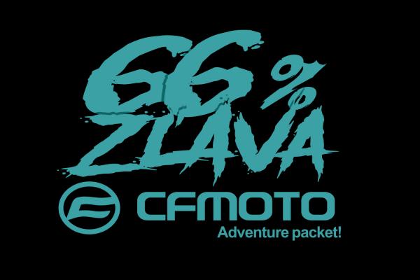 CFMOTO limitovaná 66% zľava na adventure packet!