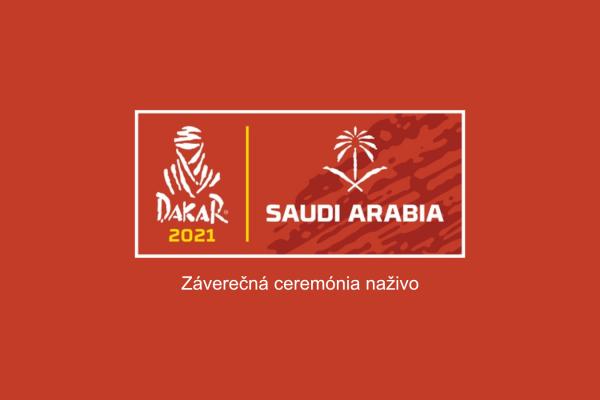 Dakar 2021 záverečná ceremónia naživo