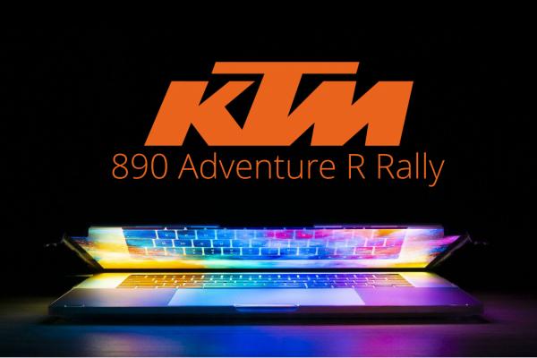 Digitálna prezentácia KTM 890 Adventure R Rally sa bude konať 6. októbra 2020