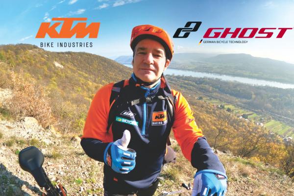 Jazdili a testovali sme elektrobicykle KTM a GHOST v malebnej prírode pohoria Burda