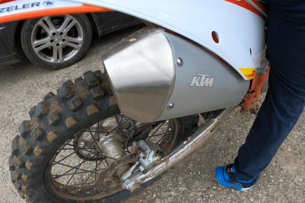 KTM 450 SX-F 2021 sound check (OKR Moto)