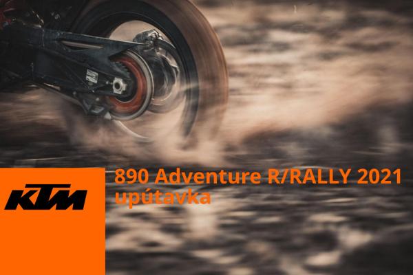 KTM 890 Adventure R/RALLY 2021 upútavka na oficiálne predstavenie na ktm.com