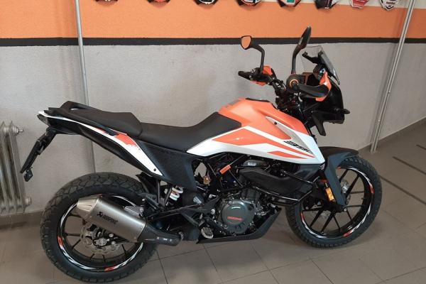 KTM Adventure 390 Orange OKR Moto replika (projekt číslo 3)