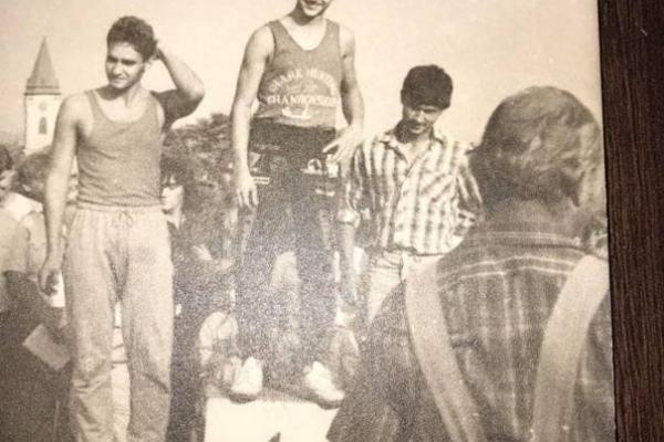 Majstrovstvá Slovenska v motokrose Rybník nad Hronom 1988
