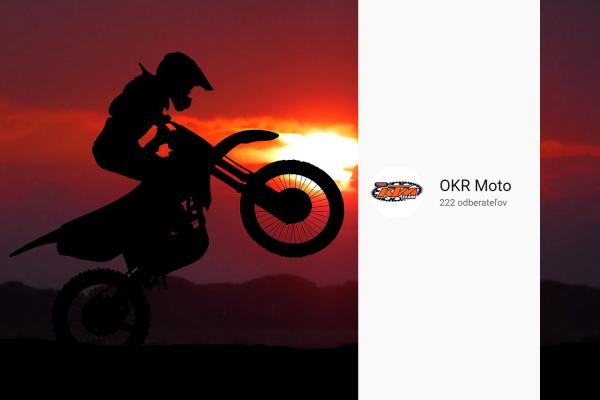 OKR Moto YouTube kanál má 222 odberateľov a to je aj štartovné číslo legendárneho 9 násobného majstra sveta Antonio Cairoliho