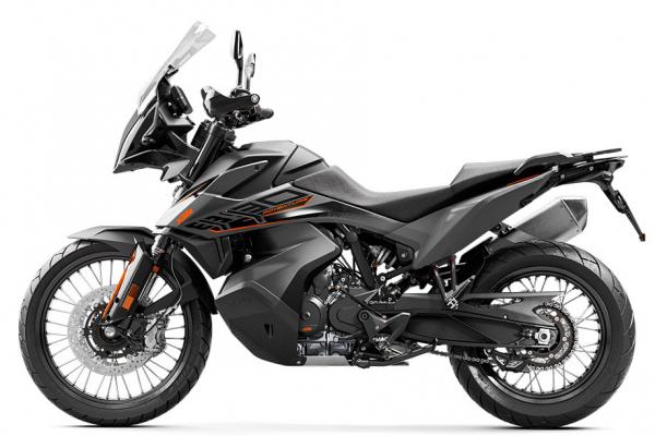 Upravovali sme motocykel KTM 890 Adventure 2021 BLACK